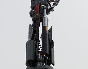 3D model Sci Fi Robot arm