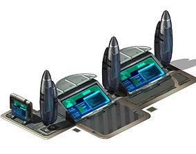 Future World - Screen 01 3D model