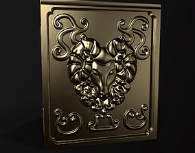 Cloth Armor Box - Golden Armor PACK - 3D printable model