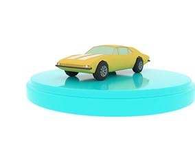 Chevrolet Camaro 1967 Low-Poly 3D asset