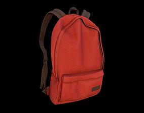 3D model PBR backpack