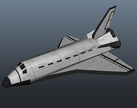 3D model Space Shuttle