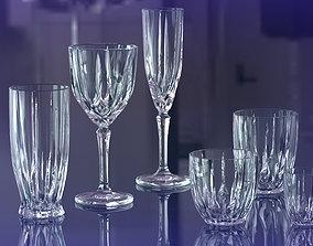 Arrow glassware set 3D print model