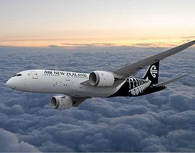 Boeing 787 Dreamliner Air New Zealand 3D model