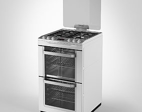 3D Electrolux Gas Cooker Double Oven