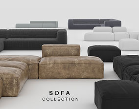 SOFA COLLECTION 3D model interior
