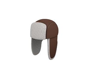 3D model Fur Hat
