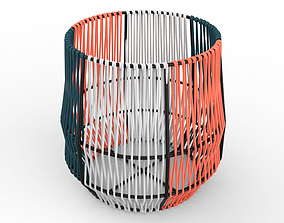3D model Ariba Woven Plant Stand Small