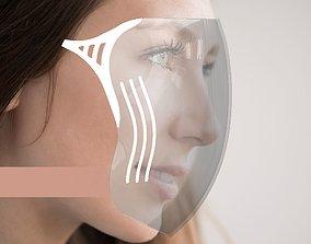 Face Shield 3D printable model