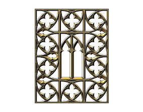 Gothic Ornament for plaster and wood 3D print model