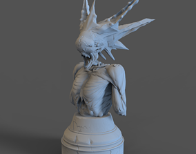 Alien monster 3D print model