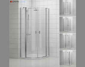 3D model Cabin showers Radaway NES 3