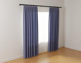 3D Curtains 01
