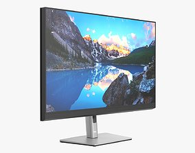 3D model Dell Ultra Sharp LCD 32 inch monitor