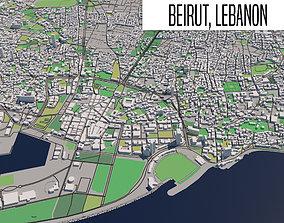 Beirut Lebanon 3D mubarak
