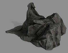 3D asset Jesus