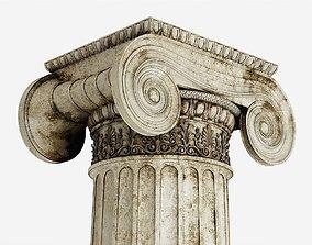3D Column Greek Erechtheum