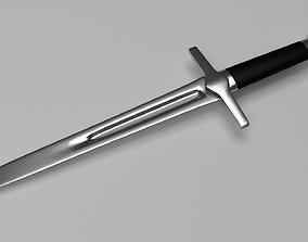 Crusader Dagger 3D model