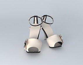 FENDI Petal Sandals No.1 3D
