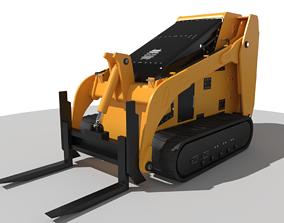Mini Skid Steer 3D model
