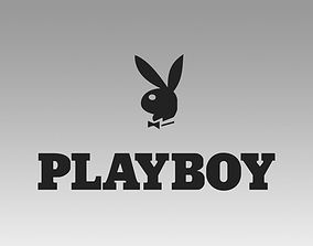 Playboy logo 3D model