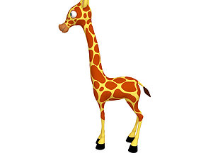 Giraffe Cartoon 3D