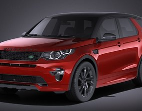 3D model Land Rover Discovery Sport Dynamic 2017 VRAY