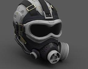 3D model Scifi helmet ver 10