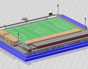 3D print model AFC Wimbledon - Kingsmeadow