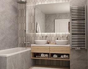 3D model Bathroom 21
