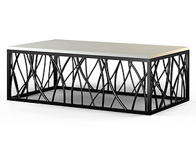 3D Hookerfurniture - Rectangle Cocktail Table
