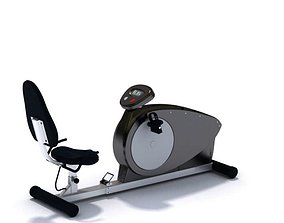 Stationary Bike Sports Equipment 3D model