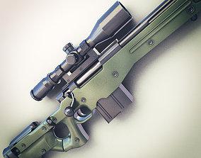 AWM Sniper Rifle Hi-Res 3D