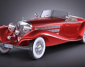 Mercedes 540K 1936 3D