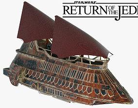 Star Wars Khetanna Jabba Sail Barge 3D model