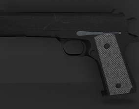 3D asset gun colt brazilian