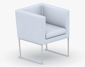 3D model 0595 - Armchair