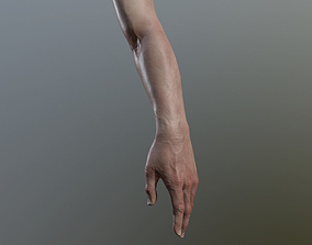 low-poly hand 3dGame