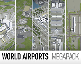 3D model Top World Airports