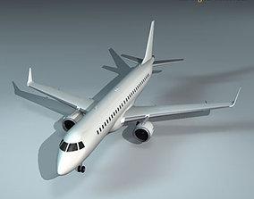 3D Embraer 195