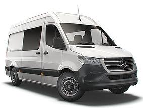 Mercedes Benz Sprinter L2 Walfare 2021 3D model