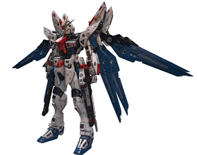 3D model realtime Gundam