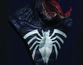 Venom - Spider Man 3D print model