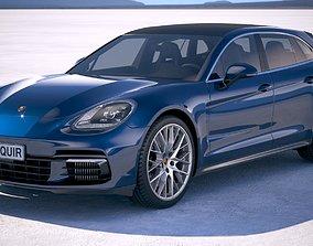 3D Porsche Panamera 4s Sport Turismo 2018