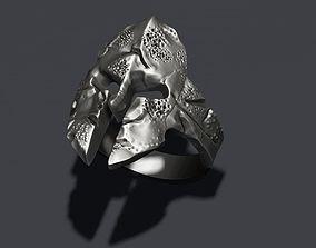 3D print model helmet ring