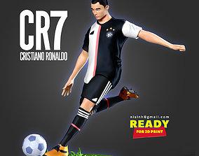 Cristiano Ronaldo - CR7 3D print model statue