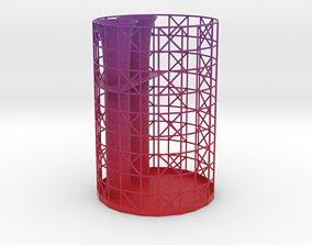 3D printable model bathroom Toothbrush holder