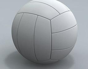3D model Realistic Volley ball