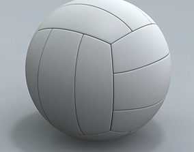 3D model Realistic Volley ball