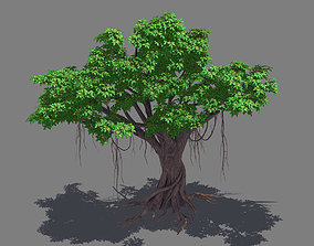 Plant - banyan tree 14 3D model